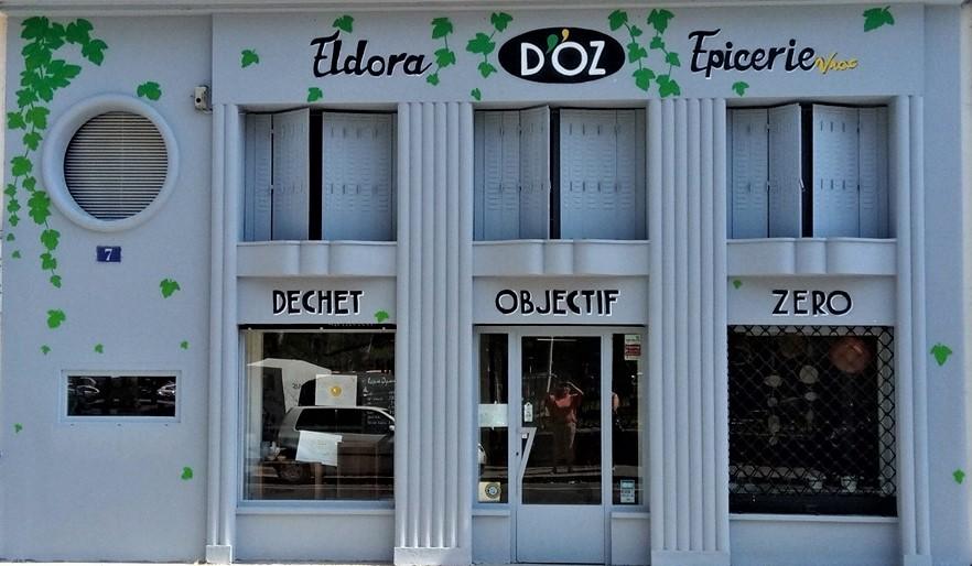Magasin vrac Eldora d'OZ vendant les cosmétiques naturels de la Savonnerie de l'Ozon