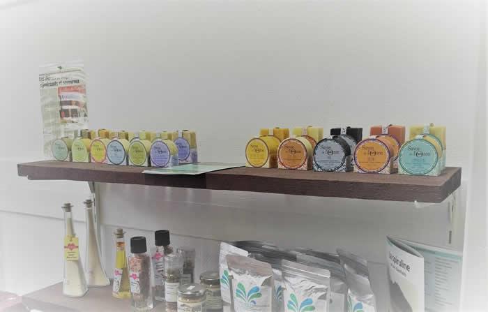 Boutique Comme à la Ferme vendant les savons de l'Ozon - Heyrieux Isère