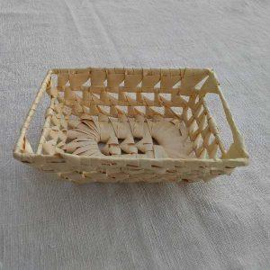 Corbeille bambou pour coffret cadeau