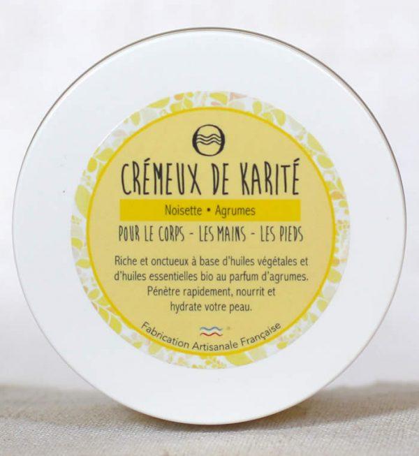Savon de l'Ozon - Cosmétique artisanal naturel bio - baume crémeux karité noisette agrumes