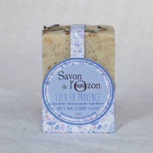 Savon solide Lulu en Provence à l'argile blanche huile de noix
