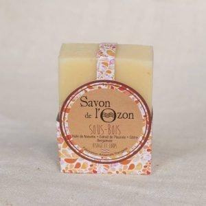 Savon Sous-Bois pleurote - Cosmétique naturel artisanal - Savon de l'Ozon