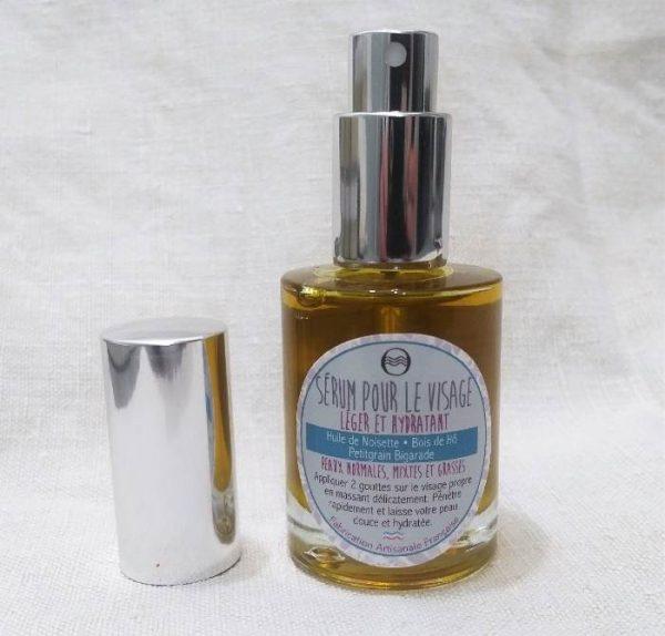Sérum visage léger et hydratant
